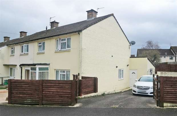 3 Bedrooms End Of Terrace House for sale in Southfields, Frome, Somerset