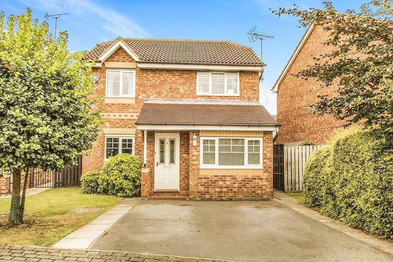 3 Bedrooms Detached House for sale in Rowan Court, Woodlesford, Leeds, LS26