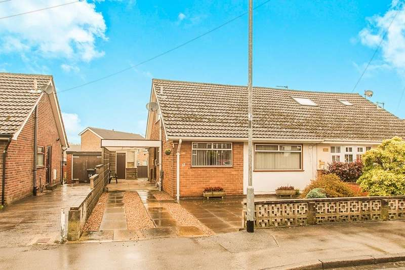 3 Bedrooms Semi Detached Bungalow for sale in Knoll Park, East Ardsley, Wakefield, WF3