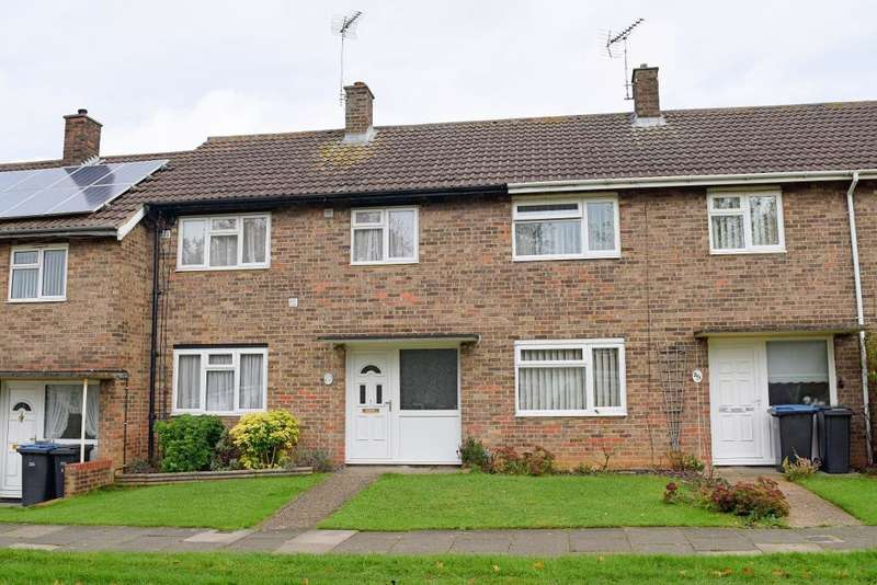 3 Bedrooms Terraced House for sale in Arkwrights, Harlow, Essex, CM20 3NE
