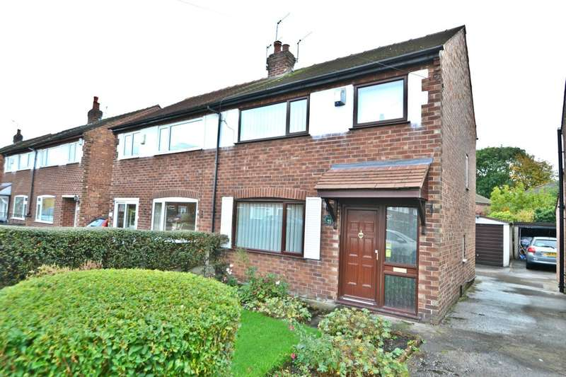 3 Bedrooms Semi Detached House for sale in Lighthorne Road, Cheadle Heath