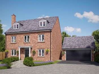 5 Bedrooms Detached House for sale in Church View, Davenham