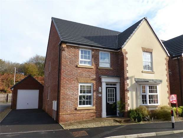4 Bedrooms Detached House for sale in Ffordd Maendy, Sarn, Bridgend, Mid Glamorgan