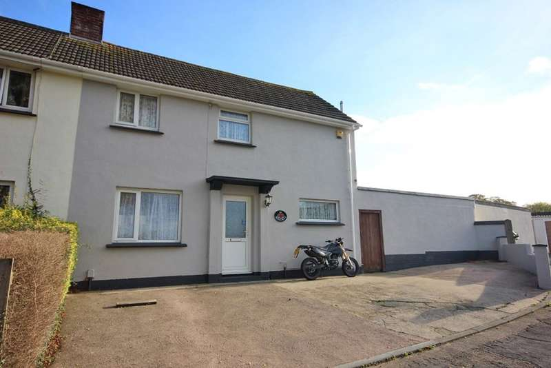 3 Bedrooms Semi Detached House for sale in Tor View Avenue, Newton Abbot