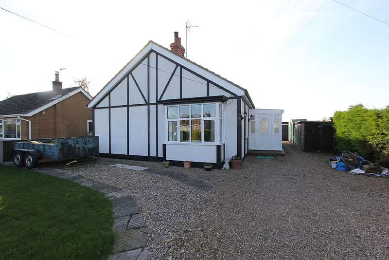 2 Bedrooms Detached Bungalow for sale in Mill Lane, Butterwick, Boston, Lincolnshire, PE22 0JE