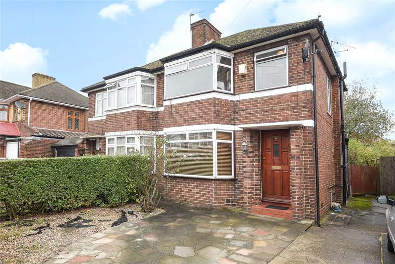 3 Bedrooms Semi Detached House for sale in Kynance Gardens, Stanmore, Middlesex, HA7