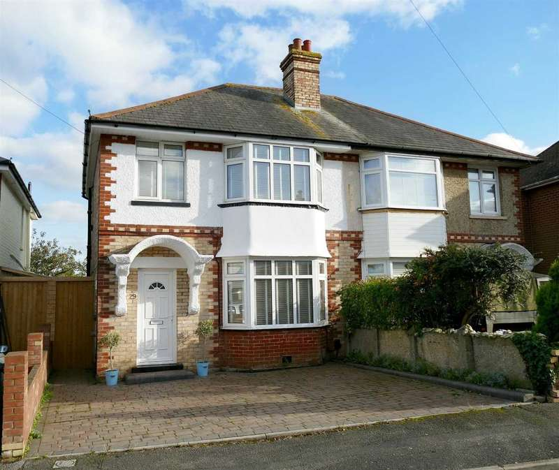 3 Bedrooms Semi Detached House for sale in Semi-Detached House with Planning Permission to extend - ST MARKS SCHOOL CATCHMENT - Wallisdown