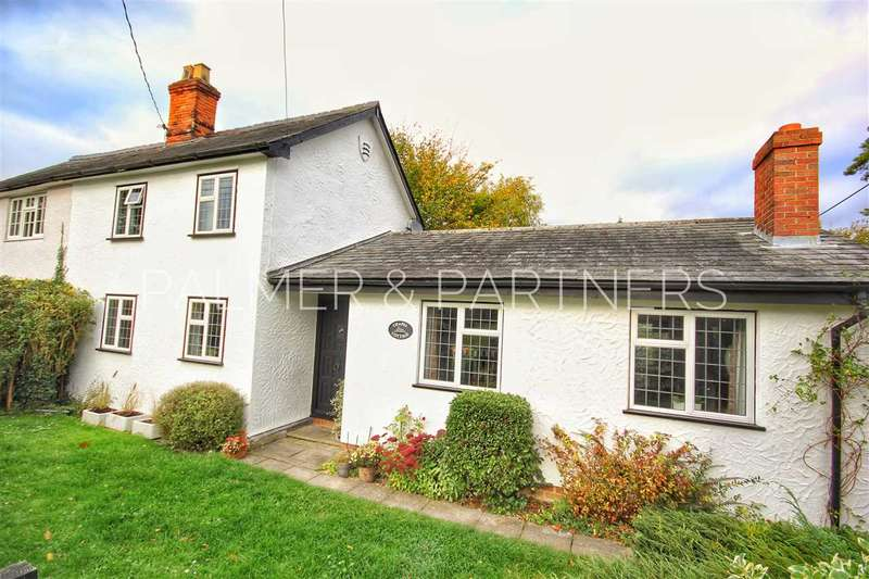 3 Bedrooms Semi Detached House for sale in Chapel Cottage, Meeting Lane, Ridgewell