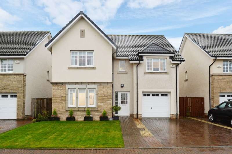 5 Bedrooms Detached Villa House for sale in Freelands Road, Ratho, Edinburgh, EH28 8NP