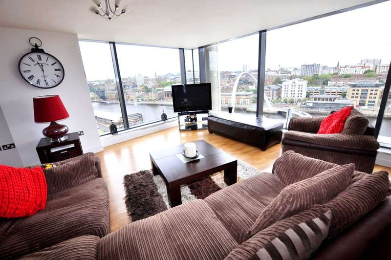 3 Bedrooms Apartment Flat for rent in Baltic, Baltic Quay, Gateshead