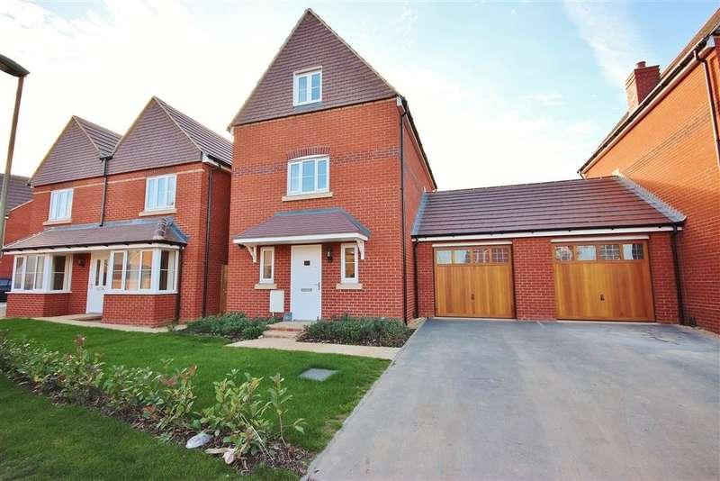 3 Bedrooms Link Detached House for rent in Whittington Crescent, Wantage, OX12