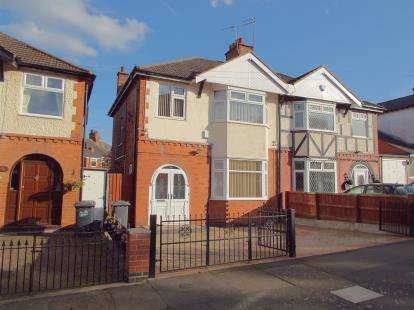 3 Bedrooms Semi Detached House for sale in Dumbleton Avenue, Leicester, Leicestershire