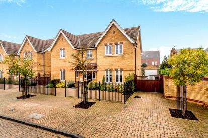 5 Bedrooms Detached House for sale in Tydeman Close, Bedford, Bedfordshire