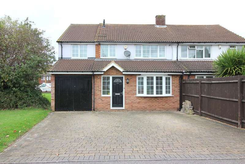 4 Bedrooms Semi Detached House for sale in Norman Road, Barton Le Clay, Bedfordshire, MK45 4PX
