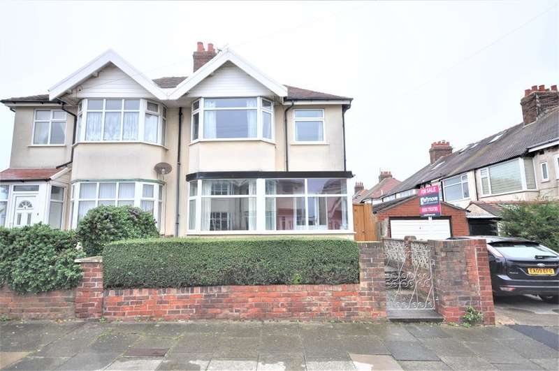3 Bedrooms Semi Detached House for sale in Seacrest Avenue, Blackpool, Lancashire, FY1 2SD