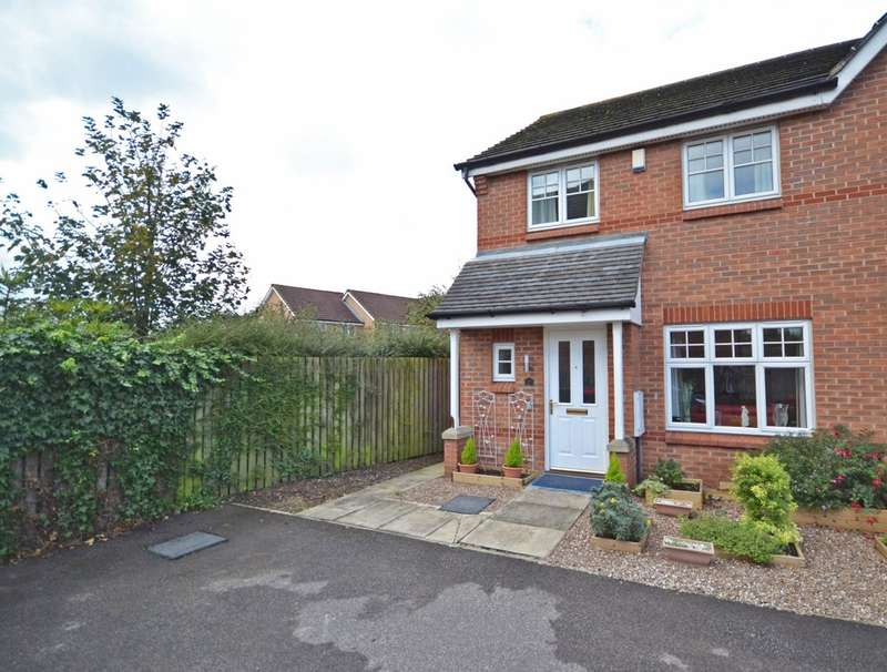 3 Bedrooms Semi Detached House for sale in Mill Chase Close, Alverthorpe, Wakefield