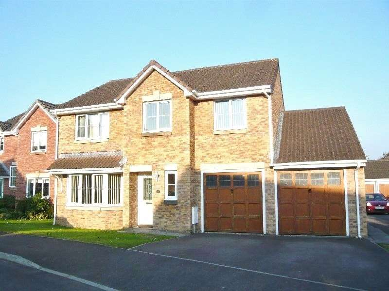 5 Bedrooms Detached House for sale in Rhodfa Ceirios , Pen-y-fai, Bridgend. CF31 4GG