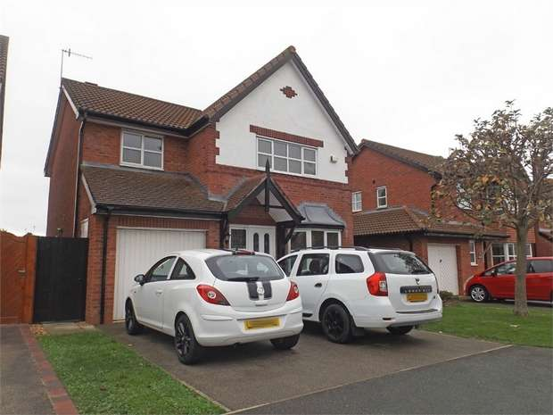4 Bedrooms Detached House for sale in Cae Rhos Goed, Llandudno Junction, Conwy