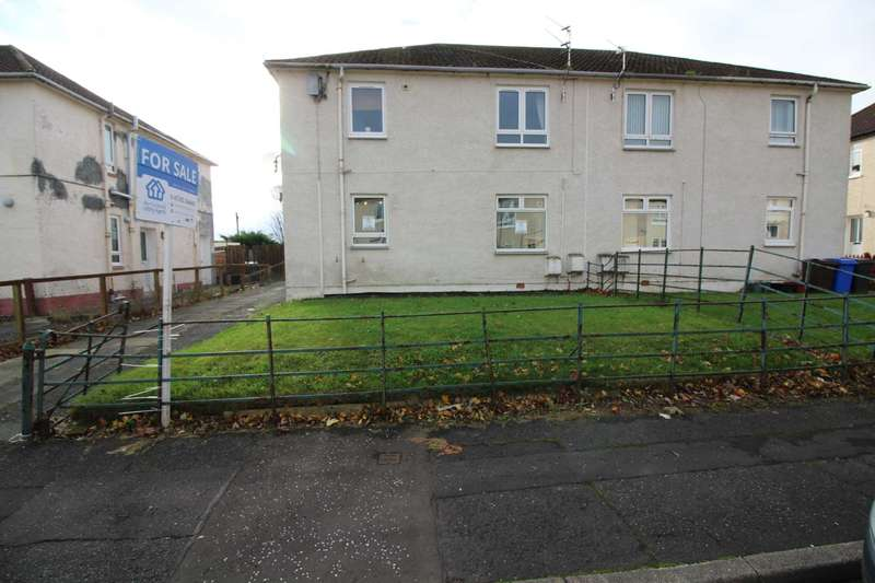 2 Bedrooms Flat for sale in Lane Crescent, Drongan