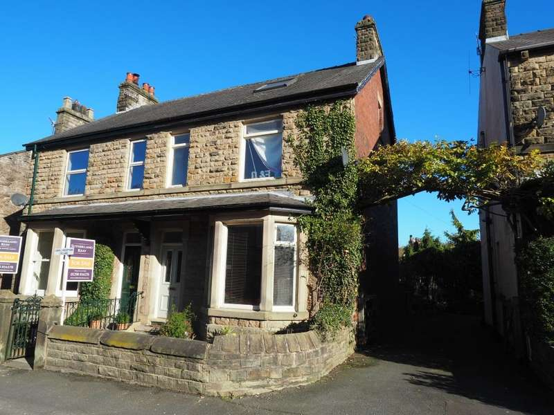 4 Bedrooms Semi Detached House for sale in Hayfield Road, Chapel-en-le-Frith, High Peak, Derbyshire, SK23 0JF