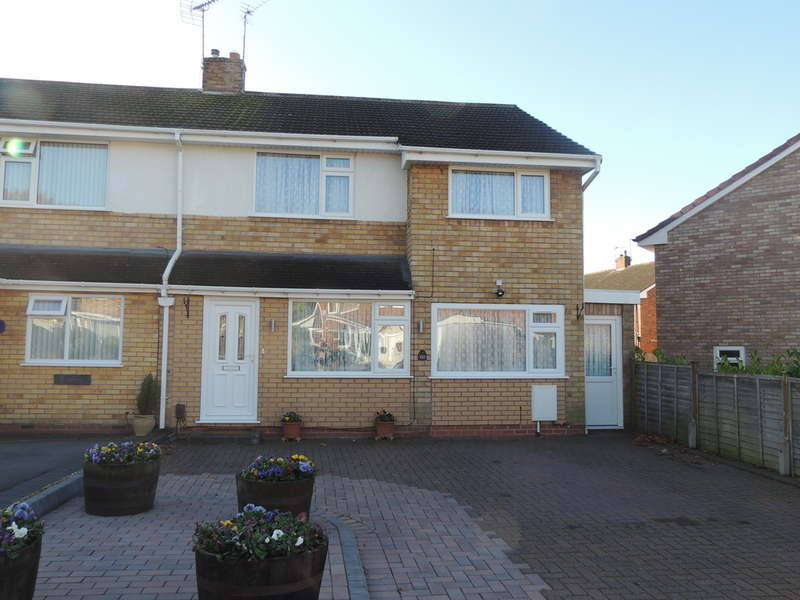 3 Bedrooms Semi Detached House for sale in Arden Vale Road, Knowle, Solihull