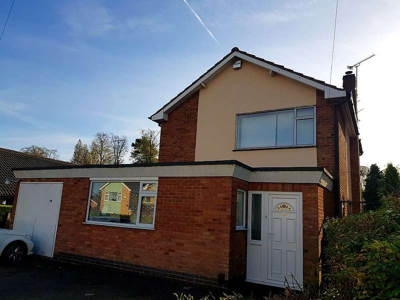3 Bedrooms Detached House for sale in Tredington Road, Glenfield, Leicester, Leicestershire, LE3