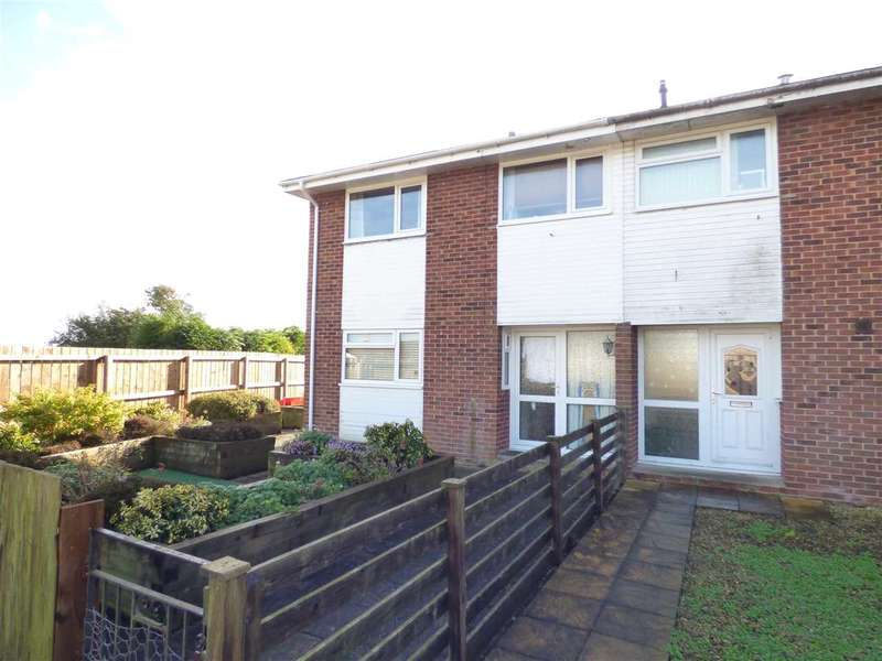 3 Bedrooms End Of Terrace House for sale in St David's Close, Bulwark, Chepstow