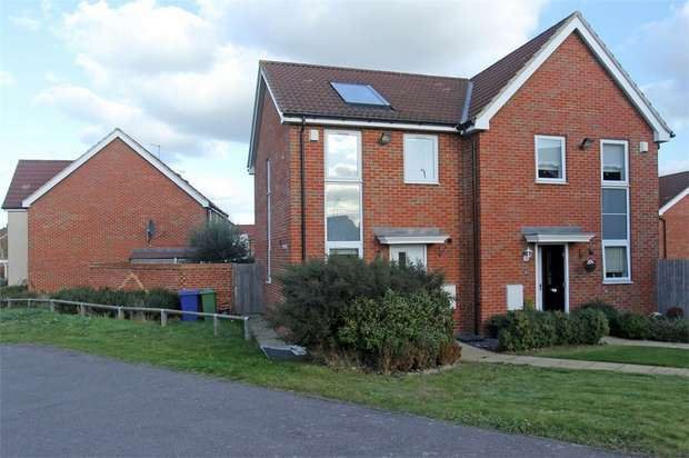 2 Bedrooms Semi Detached House for sale in Pearl Walk, Sittingbourne, Kent