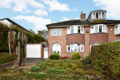 3 Bedrooms Semi Detached House for sale in Tapton Crescent Road, Tapton, Sheffield