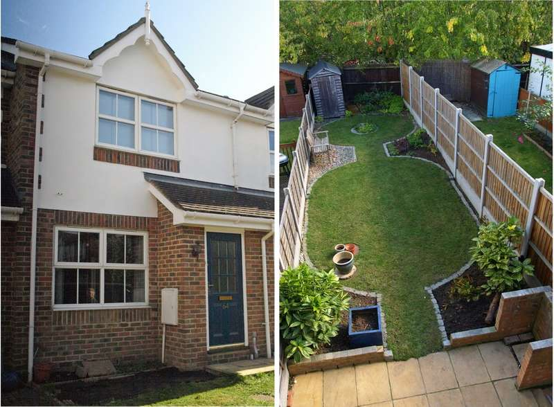 2 Bedrooms Terraced House for sale in Francisco Close, Chafford Hundred