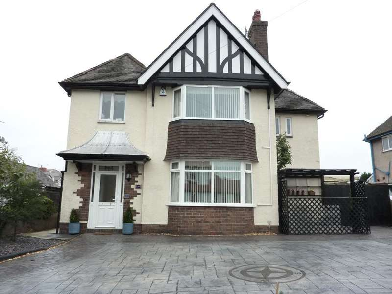 4 Bedrooms Detached House for sale in Kenelm Road, Rhos on Sea, Conwy, LL28 4EB