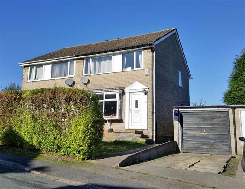 3 Bedrooms Semi Detached House for sale in Ashfield Drive, Ovenden, Halifax, HX3 9PQ