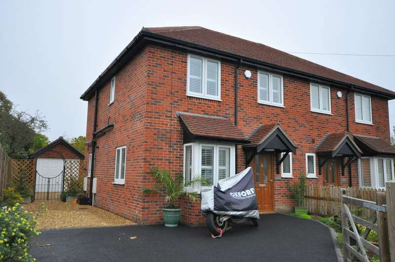 3 Bedrooms Semi Detached House for sale in Sway, Lymington, SO41 6AS