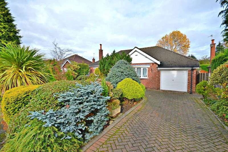 2 Bedrooms Detached Bungalow for sale in Glandon Drive, Cheadle Hulme