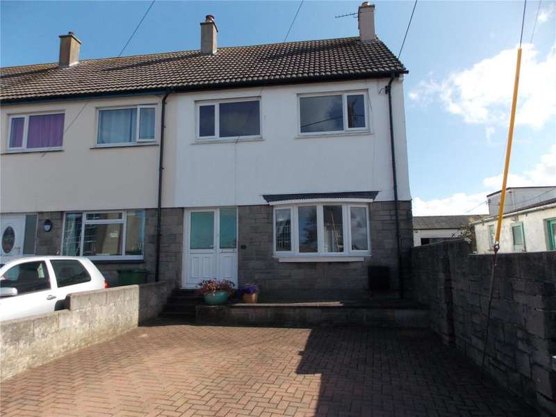 3 Bedrooms End Of Terrace House for sale in St Georges Road, Hayle
