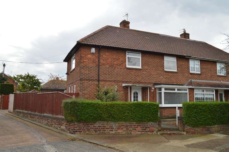3 Bedrooms Semi Detached House for sale in Hurworth Road, Beechwood, Middlesbrough, TS4 3DW