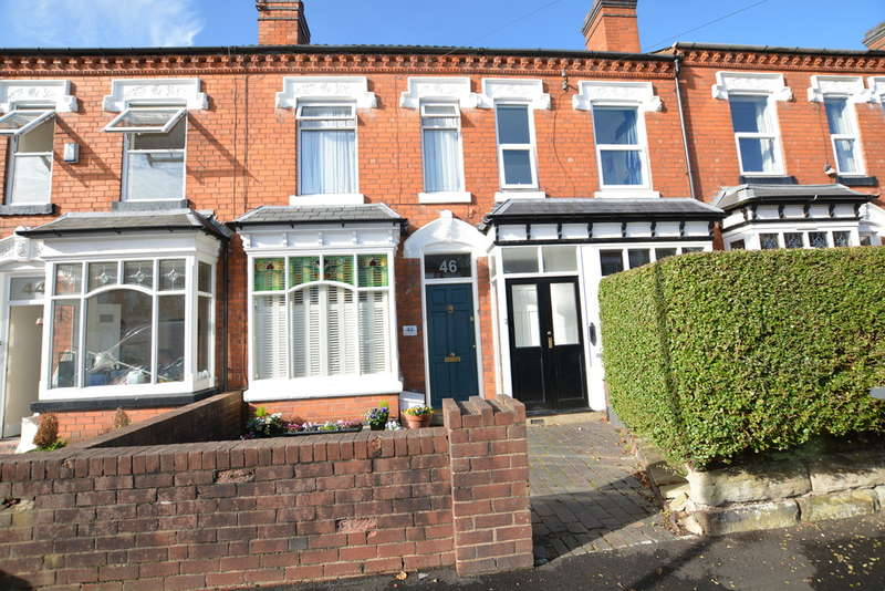 2 Bedrooms Terraced House for sale in Earls Court Road, Harborne