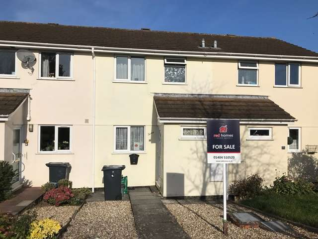 2 Bedrooms Terraced House for sale in Rosewell Close, Honiton