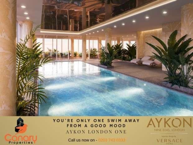3 Bedrooms Apartment Flat for sale in AYKON London One Bondway, London, SW8
