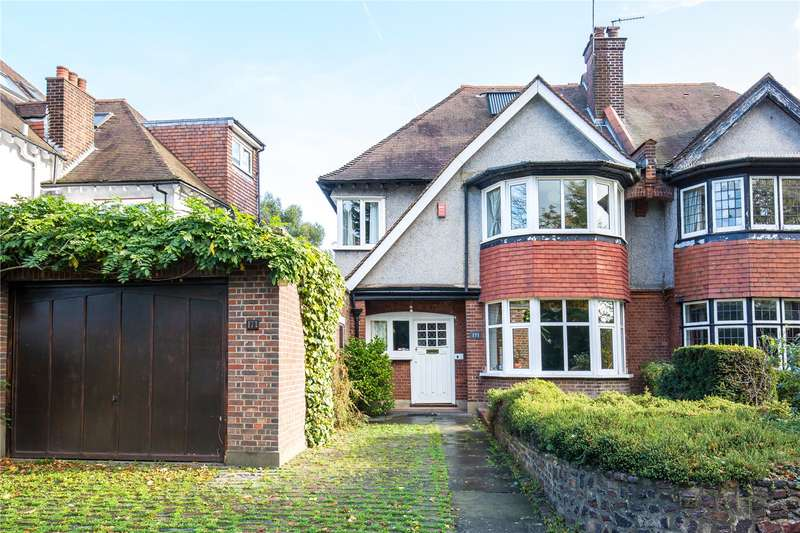 5 Bedrooms Semi Detached House for sale in Friern Barnet Lane, Whetstone, London, N20