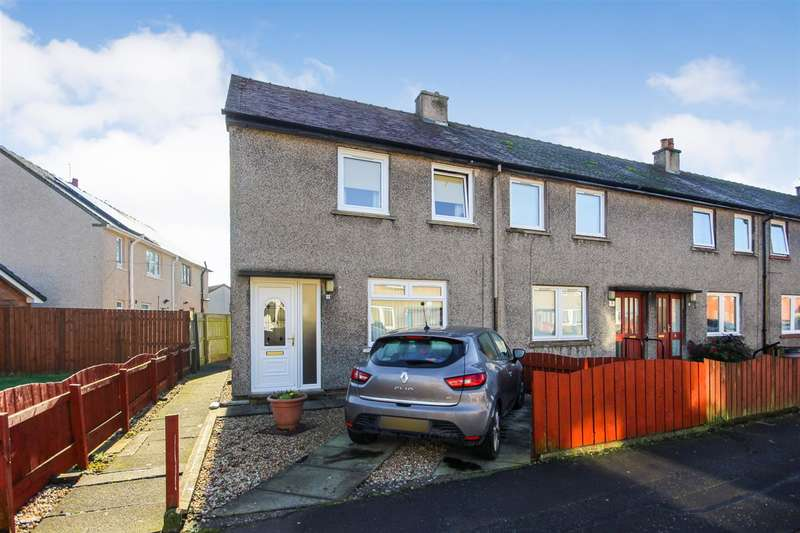2 Bedrooms End Of Terrace House for sale in Viewfield Road, Banknock