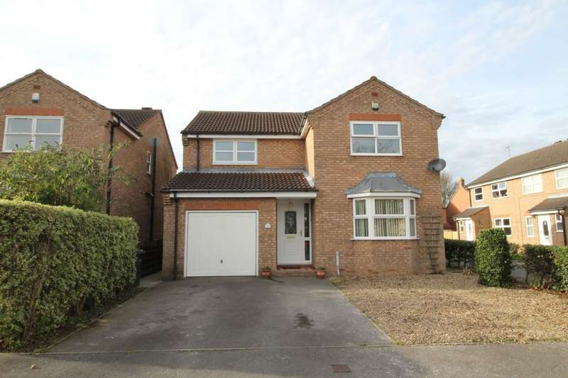 4 Bedrooms Detached House for sale in Old Farm Way, Brayton, Selby, YO8