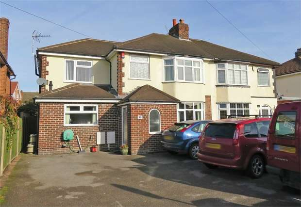 4 Bedrooms Semi Detached House for sale in Dale Road, Spondon, Derby