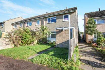 3 Bedrooms End Of Terrace House for sale in Burnt Close, Luton, Bedfordshire, Marsh Farm