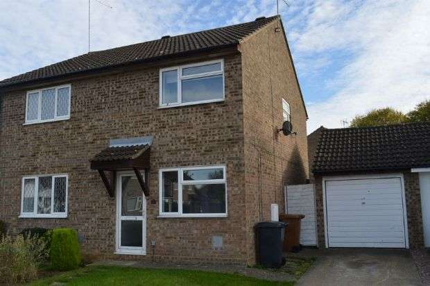 2 Bedrooms Semi Detached House for sale in Walgrave Close, Little Billing, Northampton NN3 9SJ