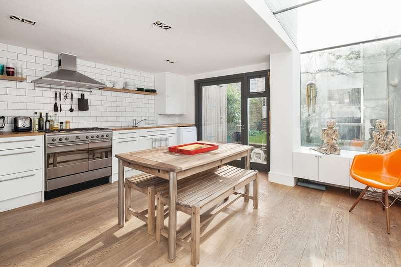 4 Bedrooms Terraced House for sale in Greyhound Road, Kensal Green NW10