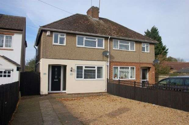 3 Bedrooms Semi Detached House for sale in Northampton Lane South, Moulton, Northampton NN3 7RH
