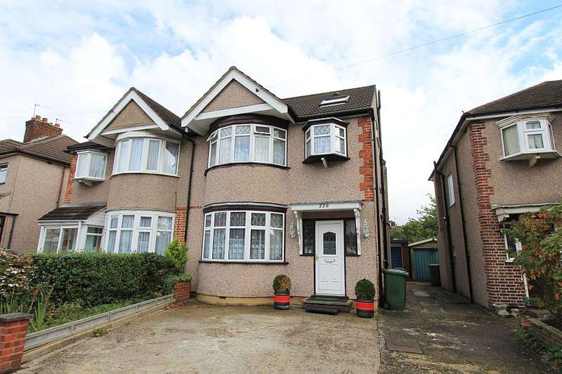 4 Bedrooms Semi Detached House for sale in Kenmore Avenue, Harrow, London, HA3 8PS