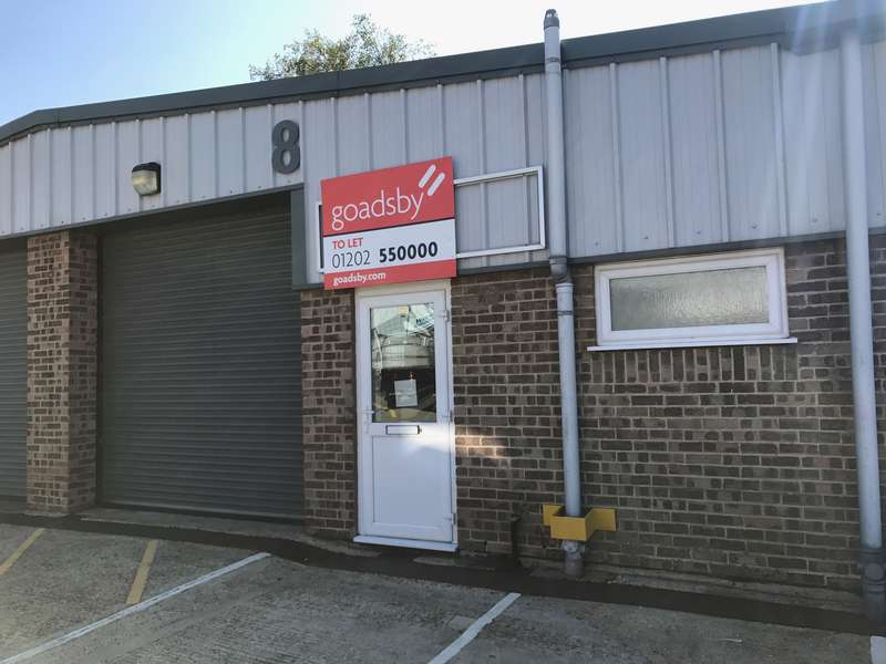 Warehouse Commercial for rent in Unit 8, West Howe Industrial Estate, Elliott Road, Bournemouth, BH11 8JS
