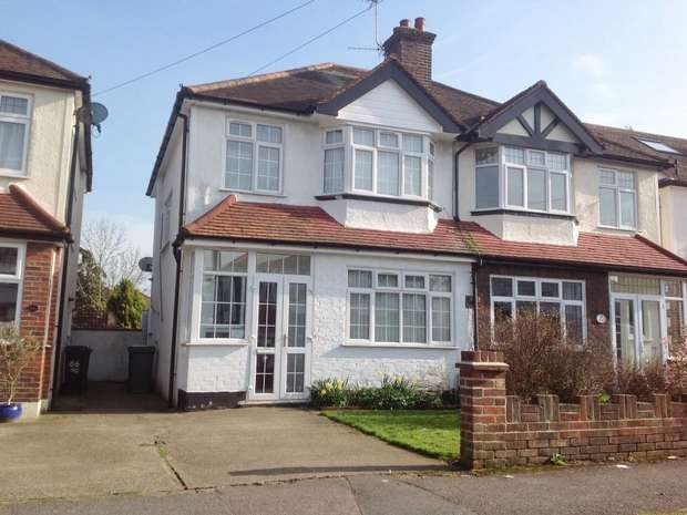 3 Bedrooms Semi Detached House for sale in Belfield Road, West Ewell